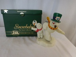 Department 56 Snowbabies Frosty the Snowman Catch Me If You Can - $47.53