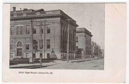 Girls High School Louisville Kentucky 1905c postcard - $6.44