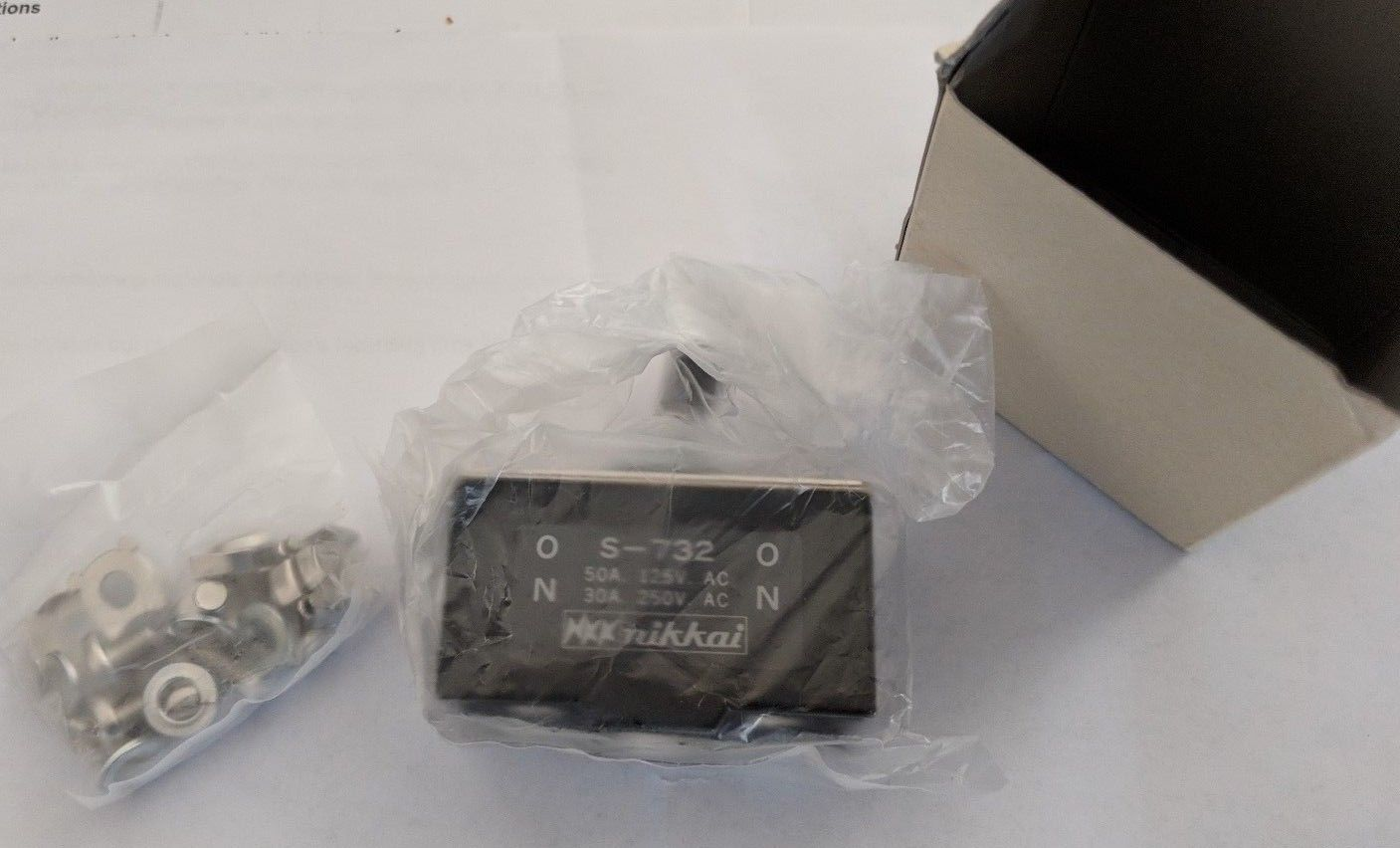NKK Switches S732 S-732 50Amp and 50 similar items
