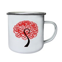 I Love You Tree Novelty Funny Vintage Art  Retro,Tin, Enamel 10oz Mug zz54e - $13.13