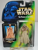 Star Wars Power Of The Force Tusken Raider Closed Hand (Green Card) Kenner 1996 - $8.00
