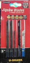 U-Shank General Purpose Jigsaw Blade Set, 5 Pc. (LOC 404CR-1) - $10.39