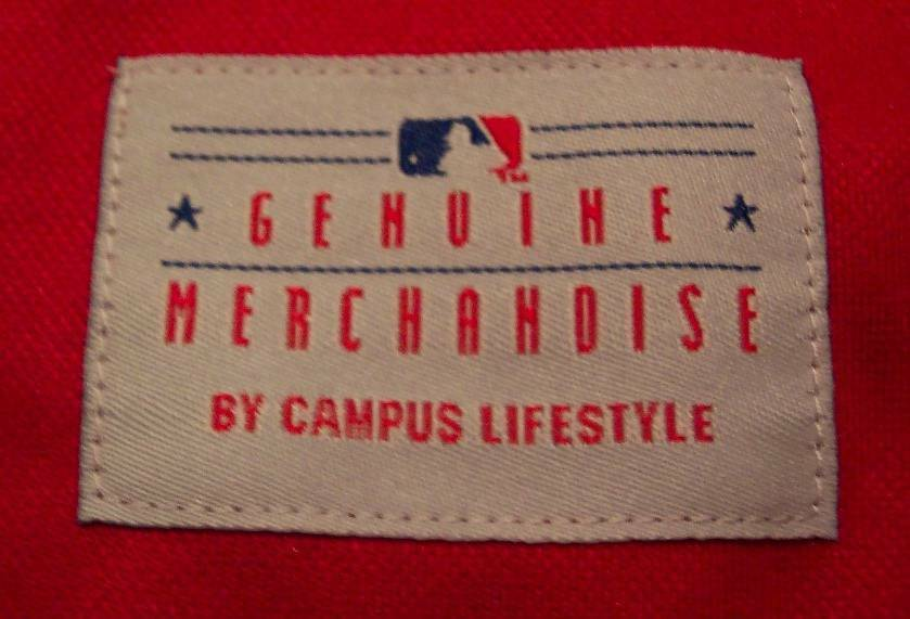 WOMEN'S MISSES PHILADELPHIA PHILLIES MLB BASEBALL JERSEY LARGE NEW w/ TAG image 4
