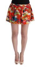 Dolce & Gabbana Multicolor Floral Print Beachwear Skirt - $109.06