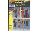 Simplicity 7073 fashion doll clothes pattern   sewing for dummies thumb155 crop