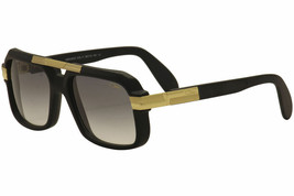 New Authentic Cazal  663/3 011 Matte Black 56mm Sunglasses  - $341.55