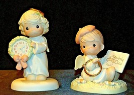 1997 and 1998 Precious Figurines Moments  AA-191837  Vintage Collectible