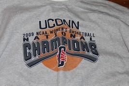 *New* Park 7 Uconn 2009 Ncaa Womens Basketball Champs Sweatshirt Size 2X - $20.78