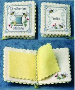 I'd Rather Be Stitching Needlebook cross stitch chart The Bee Cottage  - $19.80