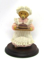 Mrs. Bumble Statue The Upstairs Downstairs Bears by Carol Lawson Dept 56... - $11.87