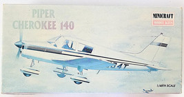 Minicraft Piper Cherokee Airplane 140 Model Kit 1/48 Scale - $27.77