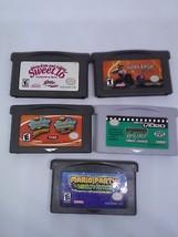 5 Pieces Nintendo Game Boy Advance Mario Party Advance/Supersponge/Sweet... - $52.37
