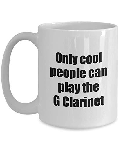Primary image for G Clarinet Player Mug Musician Funny Gift Idea Gag Coffee Tea Cup 15 oz