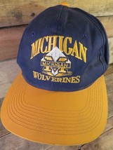 University of Michigan WOLVERINES Snapback Vintage Adjustable Adult Hat Cap - $13.36