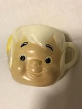 Vintage 1972 Flintstones Vitamins Bam Bam Plastic Mug Cup Well Loved Yab... - $7.70
