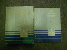 1984 Mitsubishi Truck Service Repair Shop Manual 2 Vol Set Factory Feo Book 84 X - $79.18