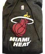 Miami Heat NBA Basketball Sweatshirt Size Large Grey With Insignia Draw ... - $12.45