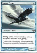 Magic the Gathering Card- Storm Crow - $1.00