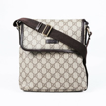 Gucci GG Supreme Monogram Canvas Shoulder Bag - $605.00