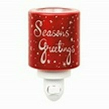 Scentsy Mini Warmer (new) SEASON'S GREETINGS - $25.81