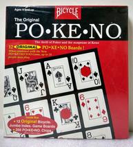 Bicycle The Original Po•Ke•No 12 Jumbo Index Boards 200 Chips New Sealed - $19.99