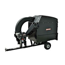 Craftsman Tow-Behind Lawn Vacuum and Chipper Attachment for Riding Mowers - $1,382.49