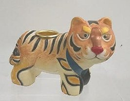 Taper Candle Holder (Tiger) - $15.00