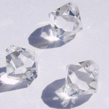 Swarovski elements Top-Drilled Bicone 6301 Pendants Crystal Clear  6mm 8mm - $3.71+