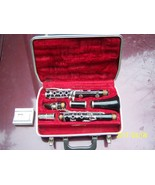 Bundy H.&A. Selmer Inc. clainet resonite with case 6 HMG clarinet reeds - $55.00
