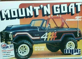 "MPC 887 JEEP COMMANDO ""MOUNT' N GOAT"" Plastic Model Kit 1/25 Scale Sealed - $27.69"
