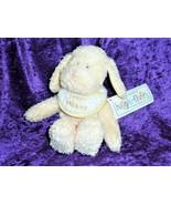Baby Boyd's Boyds Huggle Fluffs Stuffed Plush Yellow Sweet Dreams Bib Do... - $34.59