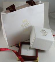 18K WHITE GOLD WEDDING BAND UNOAERRE SQUARE COMFORT RING, DIAMOND MADE IN ITALY image 5