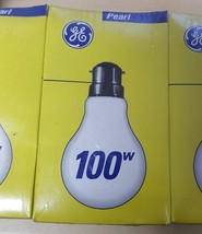 20 X Gls Household Bulbs 100 Watts Bc Cap Perl 240 Volt For The Uk Market - $27.00