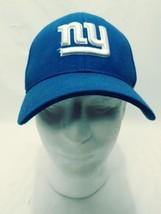 Reebok New York Hat Cap NFL Onfield One Size Small/ Medium Royal Blue an... - €11,43 EUR