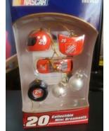 Tony Stewart Nascar Racing Mini Christmas Ornaments # 20 - NIP - $9.49