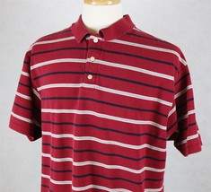 Gap Mens Short Sleeve Red Polo Shirt Size XL - $12.61