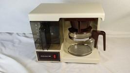 Vintage Space Saver Under Cabinet Coffee Maker Hamilton Beach 12 Cup U.S... - $69.99