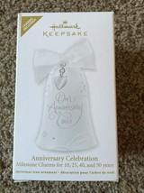 Hallmark Keepsake Anniversary Celebration Ornament New In Box - $11.87