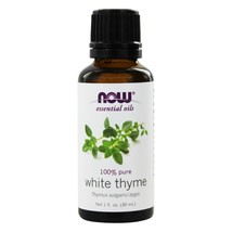 NOW Foods Thyme Oil White, 1 Ounces - $14.89