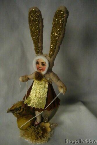 Vintage Inspired Spun Cotton, Chick Rider Bunny Girl