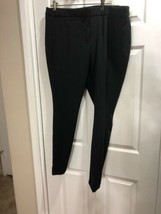 NWT Worthington Womens Dress Pants Size 18 Black Modern Fit Slim Leg 40x... - $25.09