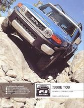 2009 Toyota FJ CRUISER brochure catalog magazine ISSUE 06 - $12.00