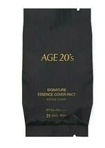 AGE20'S Signature Essence Cover Pact Intense Cover Refill 14gx4ea+Case1 ... - $57.85
