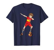 Sport Shirts - Dabbing Soccer Boy Spain Jersey Shirt - Football Tee Gift Men - $19.95+
