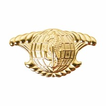 Mini Genuine U.S Navy Badge:Aviation Physiologist Gold Breast Badge Pin Insignia - $14.83