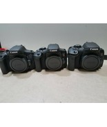 x3 CANON EOS REBEL T6I -DS126571 - 24.2MP DIGITAL SLR DSLR CAMERA AS IS!... - $447.02