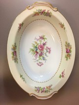 """10.5"""" Oval Vegetable Bowl in RO52 by Rose (Japan) - $46.53"""