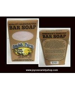 Amish Farm Bar Soap 10 Oz Variety of Colors Quality Handcrafted - $7.99