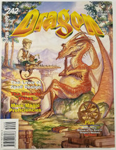 TSR Dragon Magazine #242 The Laws Of Spell Design December 1997 Roleplaying Game - $15.47