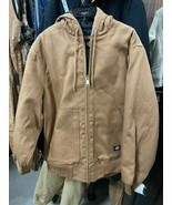 Dickies Insulated Coat, Brown - $65.00